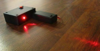 Laser Light Activated Alarm