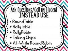 Alternatives to calling on Ss